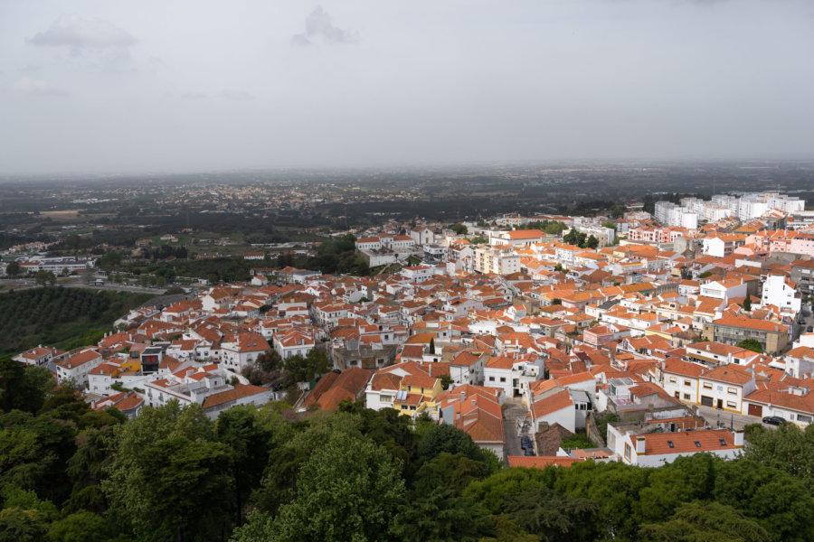 Ville de Palmela près de Setubal, Arrabida