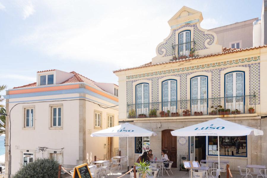 Ville de Sesimbra, Setubal, Portugal