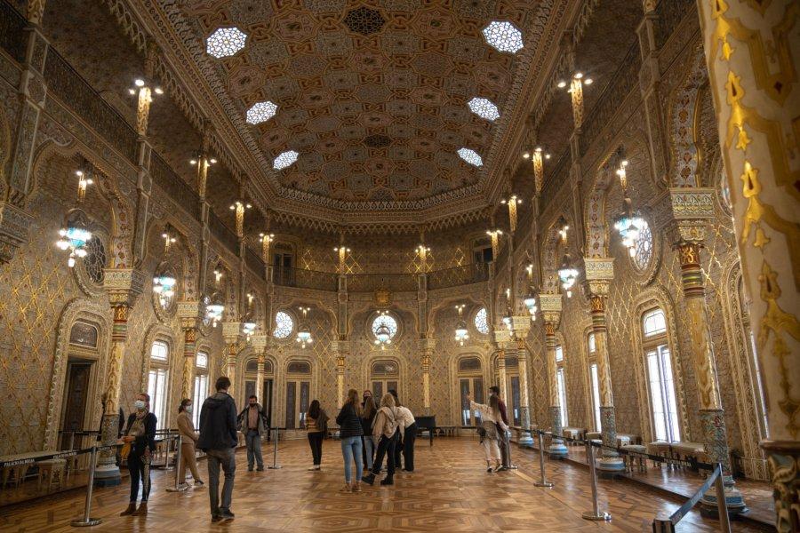 Visite du Palais de la Bourse à Porto