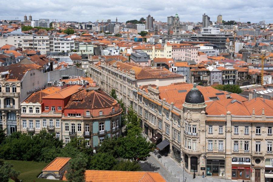 Vue sur Porto depuis la Torre dos Clerigos