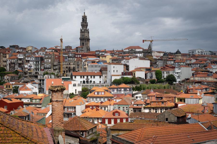 Vue sur Porto depuis la cathédrale Sé