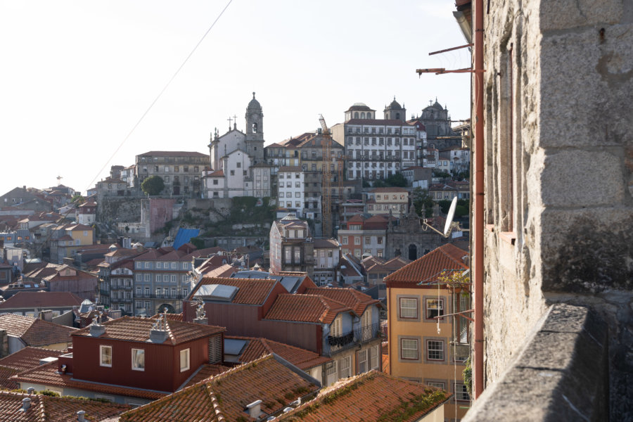 Vue sur Porto depuis le Convento des Grilos