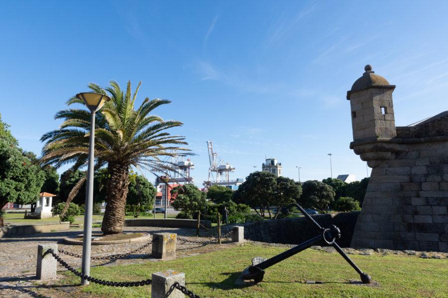 Fort de Leça de Palmeira à Foz do Douro