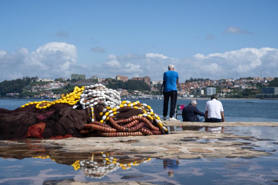 Pêcheurs à Foz do Douro, Porto