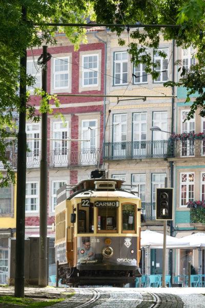 Tramway à Porto, Portugal